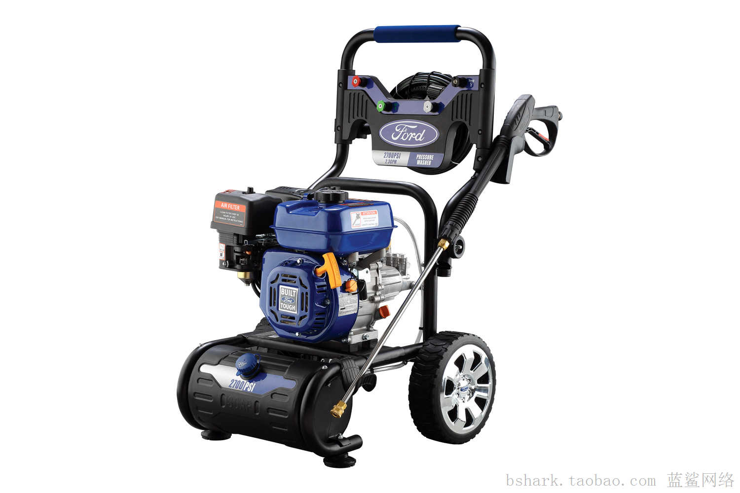 ford power equipment 2700 psi gas horizontal pressure washer p r. Black Bedroom Furniture Sets. Home Design Ideas